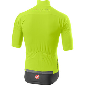 Castelli Perfetto RoS Maillot léger à manches courtes Homme, yellow fluo